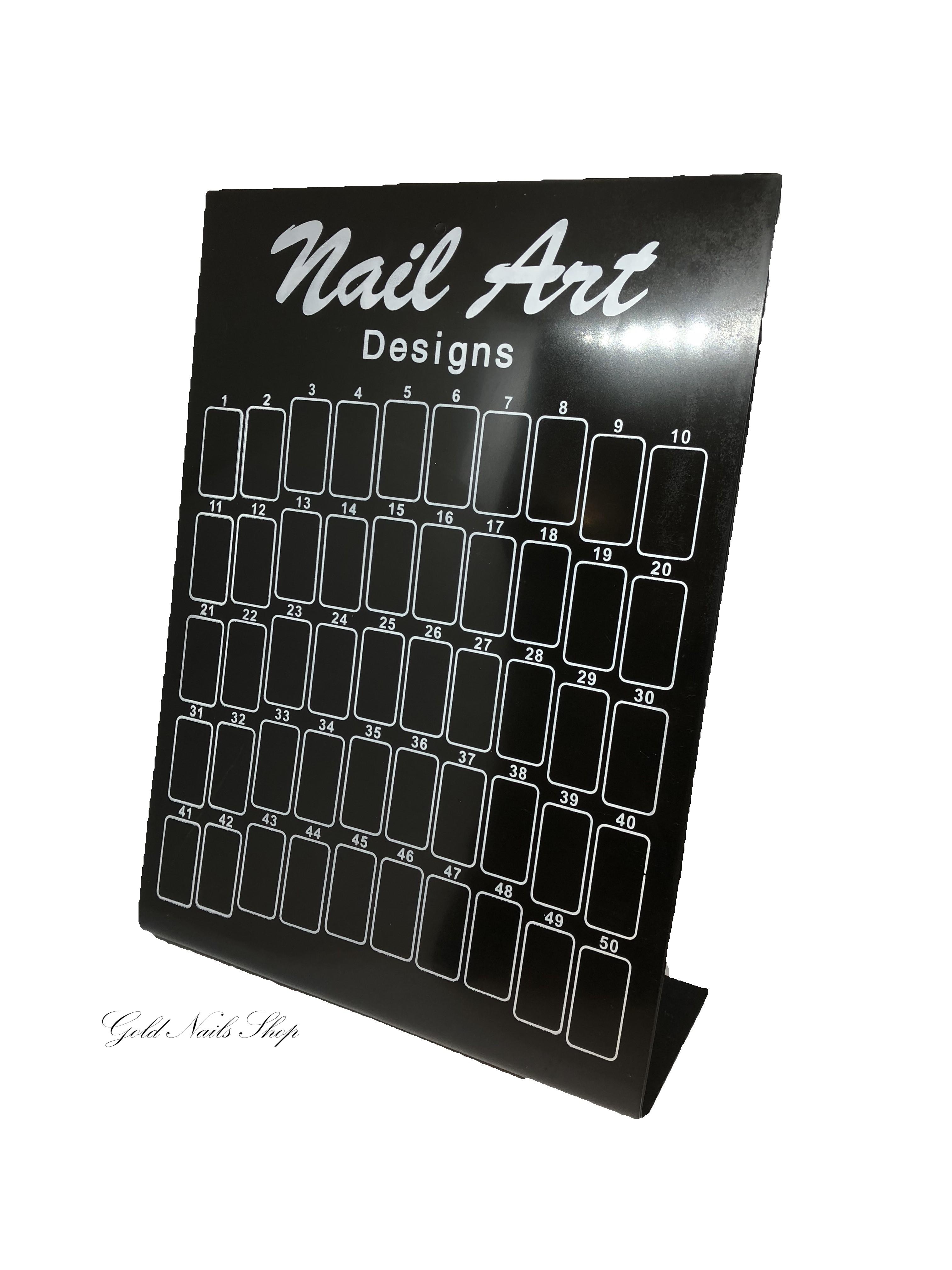 Nail Art Schwarz